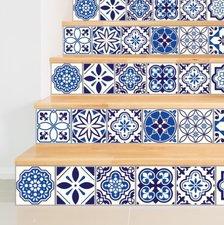 Tegelstickers Spaanse mozaïek 24 stuks (15x15 cm)