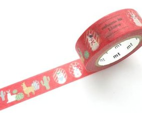 MT Masking tape cheeky little llama