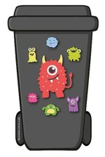 Containerstickers Arcade monsters