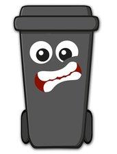 Containersticker gezicht: Eddy de Klikosticker