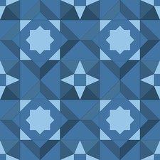 Tegelstickers Arabische tegels Hama c5
