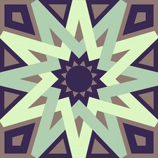 Tegelstickers Arabische tegels Tétouan c1