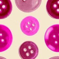 Plakfolie knopen roze (45cm)