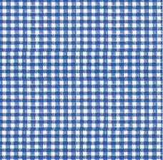 Plakfolie ruitje blauw (45cm)