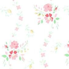 Plakfolie brocant roosje roze (45cm)