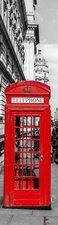 SALE: Deursticker telefooncel Londen 50x205cm (BxL)