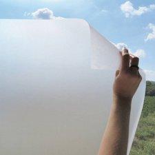 Statisch raamfolie gezandstraald 46cm (geschikt voor dubbel, HR+ en HR++ glas)