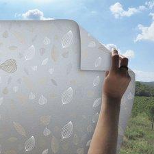 Statisch raamfolie herfstbladeren 46cm (geschikt voor dubbel, HR+ en HR++ glas)