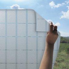 Statisch raamfolie hokjes 46cm (geschikt voor dubbel, HR+ en HR++ glas)