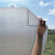 Statisch raamfolie lijnen 46cm (geschikt voor dubbel, HR+ en HR++ glas)