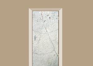 Deursticker beton