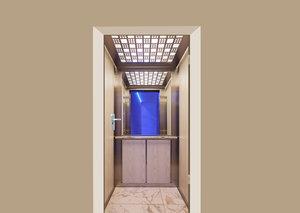 Deursticker in de lift