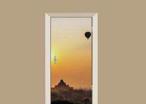 Deursticker luchtballon