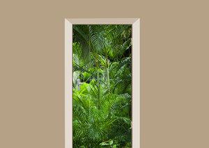 Deursticker jungle