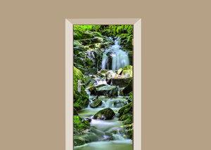 Deursticker waterval