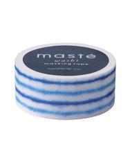 Masking tape Masté blauwe verftechniek