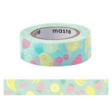 Masking tape Masté draw me fruit