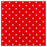 Plakfolie rol 200x45cm polkadot stippen rood/wit