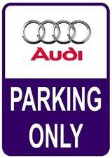 Sticker parking only Audi