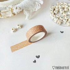 MIEKinvorm Masking tape roest met vlekjes