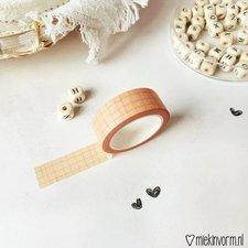 MIEKinvorm Masking tape zalm grid