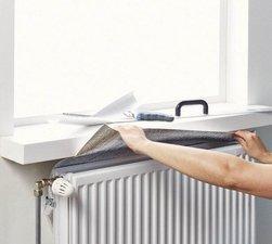 Isolatiefolie verwarming / radiatorfolie 250x50cm