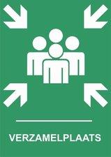 Sticker Verzamelplaats