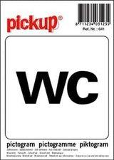 Pictogram sticker WC