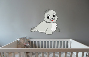 Geboortesticker Zeehond