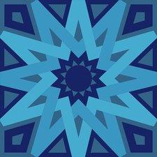 Tegelstickers Arabische tegels Tétouan c2