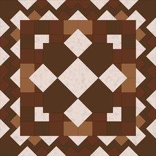 Tegelstickers Arabische tegels Tadmur c1