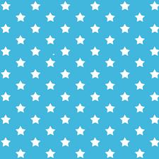 Plakfolie sterren blauw