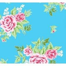 Breed plakfolie rosy blauw 90cm