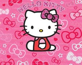 Posterbehang Walltastic Hello Kitty