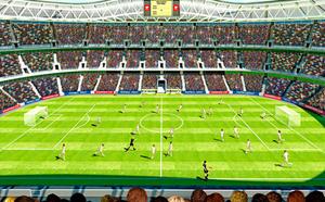 Posterbehang Walltastic Football crazy