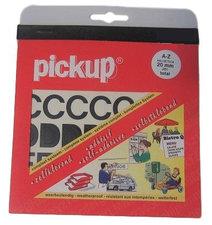 Plakletters en plakcijfers zwart Pick-up 20 mm