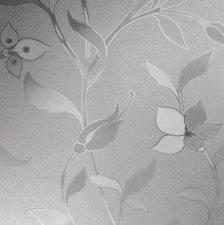 Statisch raamfolie veldbloemen