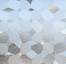 Lineafix statisch raamfolie Diamonds