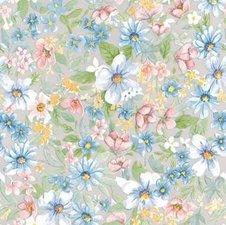 Plakfolie bloemen romantisch