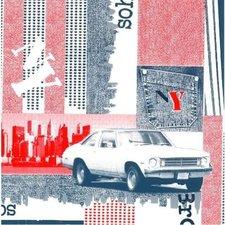 Plakfolie Broadway USA