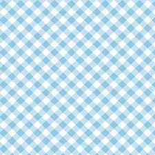 Plakfolie diagonaal blauw