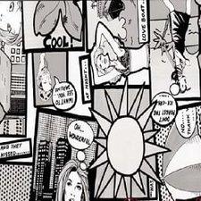 Plakfolie stripverhaal
