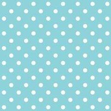 Plakfolie blauw met stipje