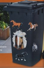 Container stickers paarden