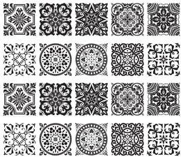 Tegelstickers barok 10 stuks (10x10cm)