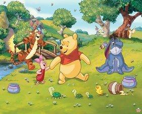 Posterbehang Walltastic winnie the Pooh