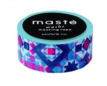 Masking tape Masté Bohemian tegel