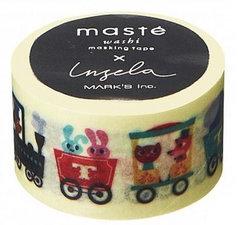 Masking tape Masté treintje