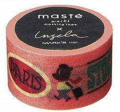 Masking tape Masté reizen