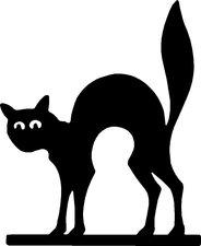 Raamsticker kat